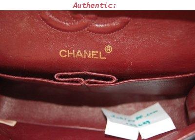 Authentication Guide Chanel 2 55 Bag Classic Medium Double Flap Lollipuff