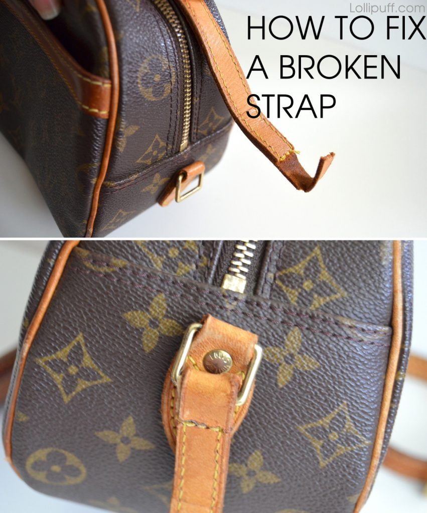 How To Fix A Torn Shoulder Strap Lollipuff