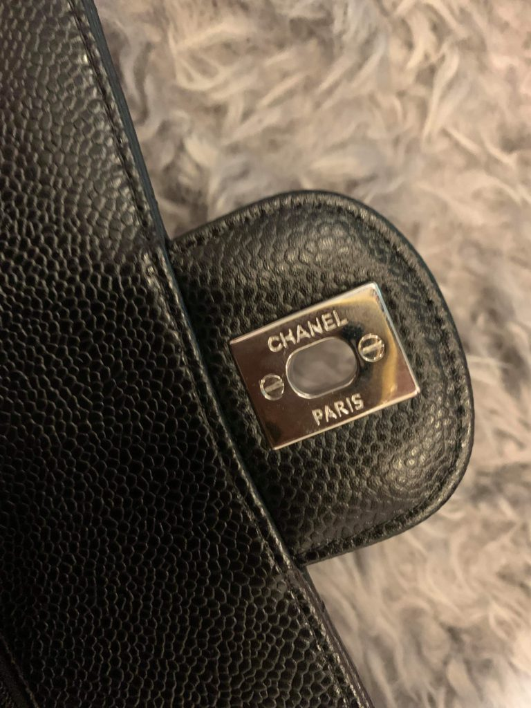 counterfeit Chanel backplate hardware