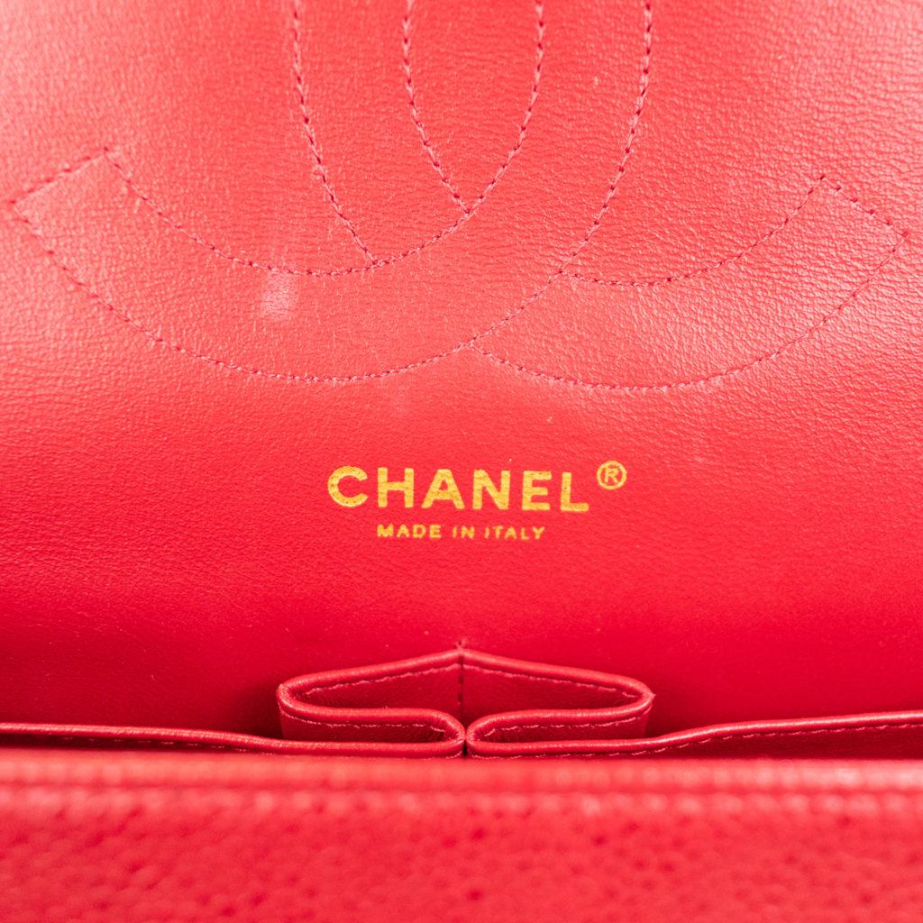 fake Chanel made in stamp on superfake bag